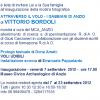 """Per POESIA DA VERNISSAGE, """"Voli udibili"""", reading di Dona Amati – Anzio, 7 settembre 2012"""