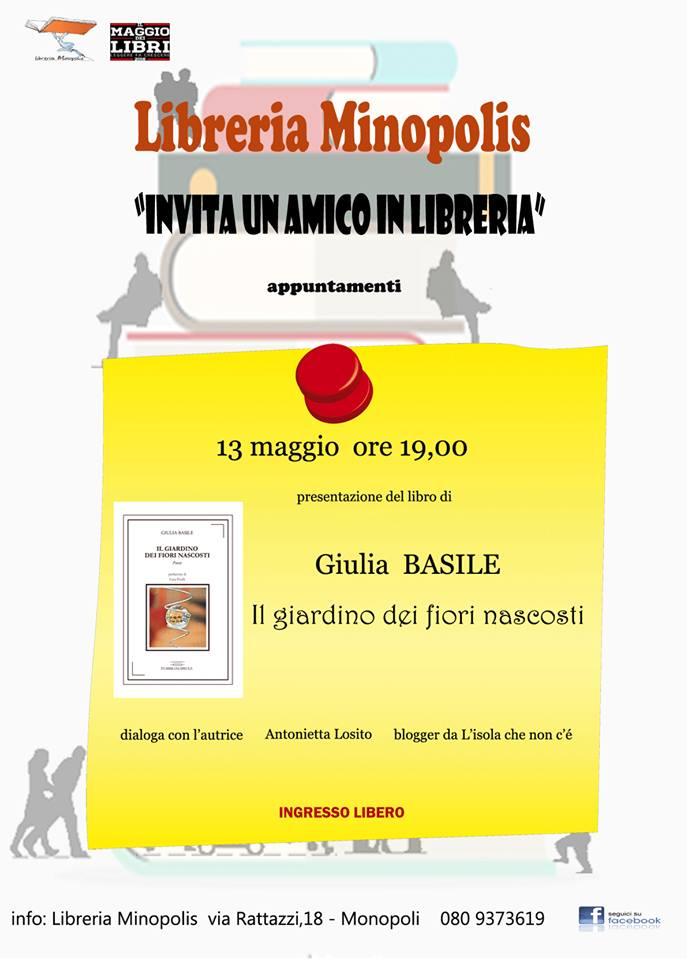Giulia basile MINOPOLIS presentazione 13 mag 16