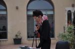 Giulia Cherubini, coordinatrice del Tavolo dei Poeti