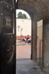 cortile interno del Forte Sangallo