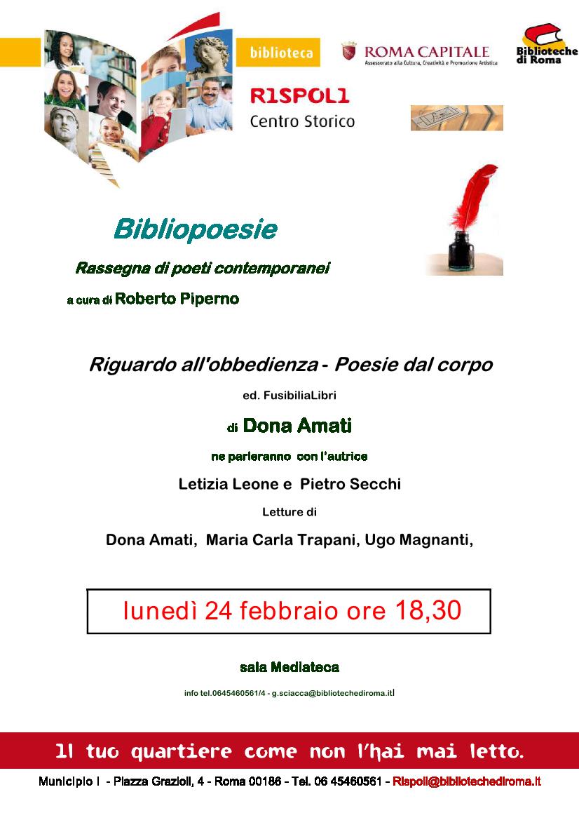 Loca_ Obbedienza_Roma_Rispoli