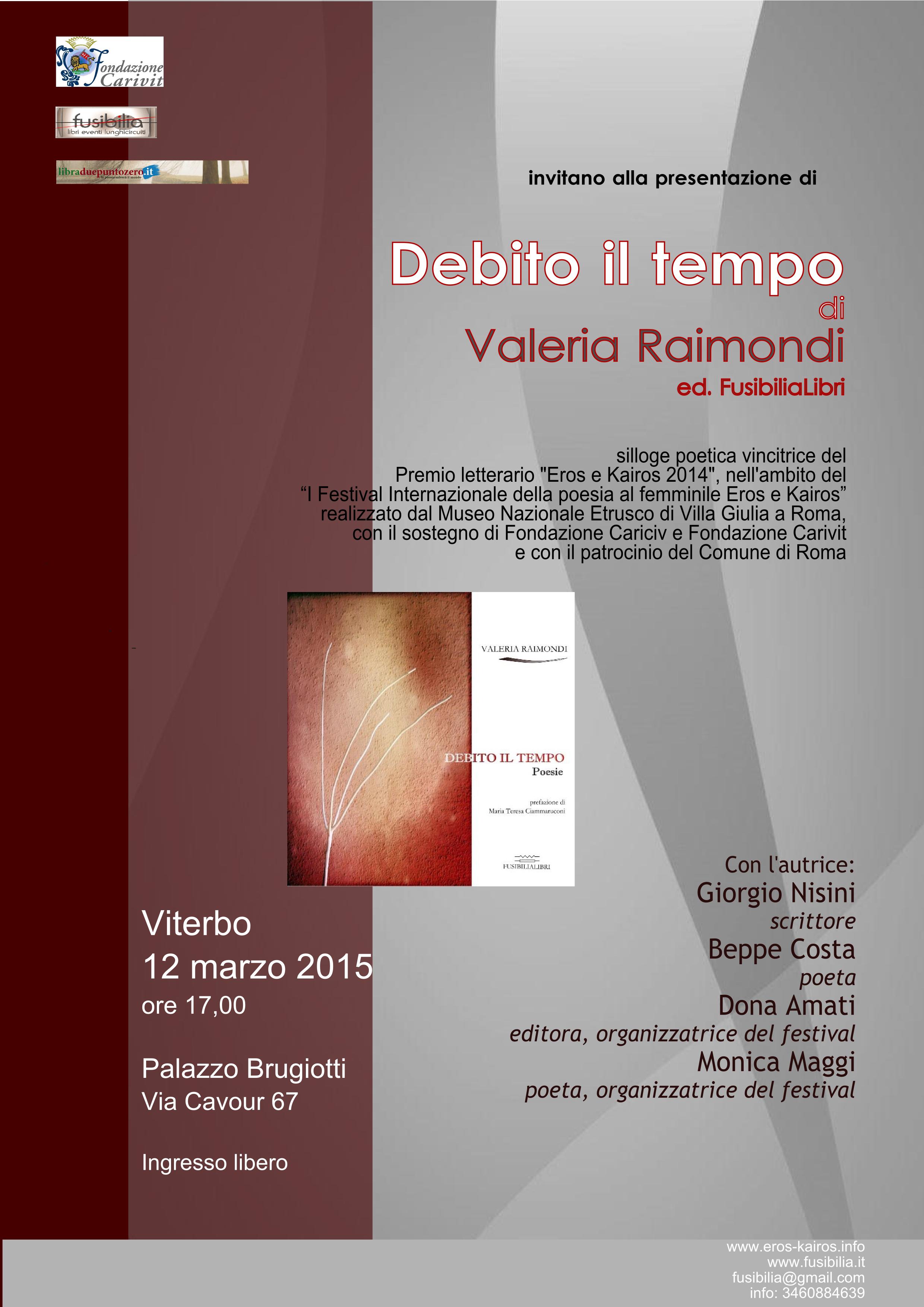 Loca_valeria_raimondi_debito_il_tempo