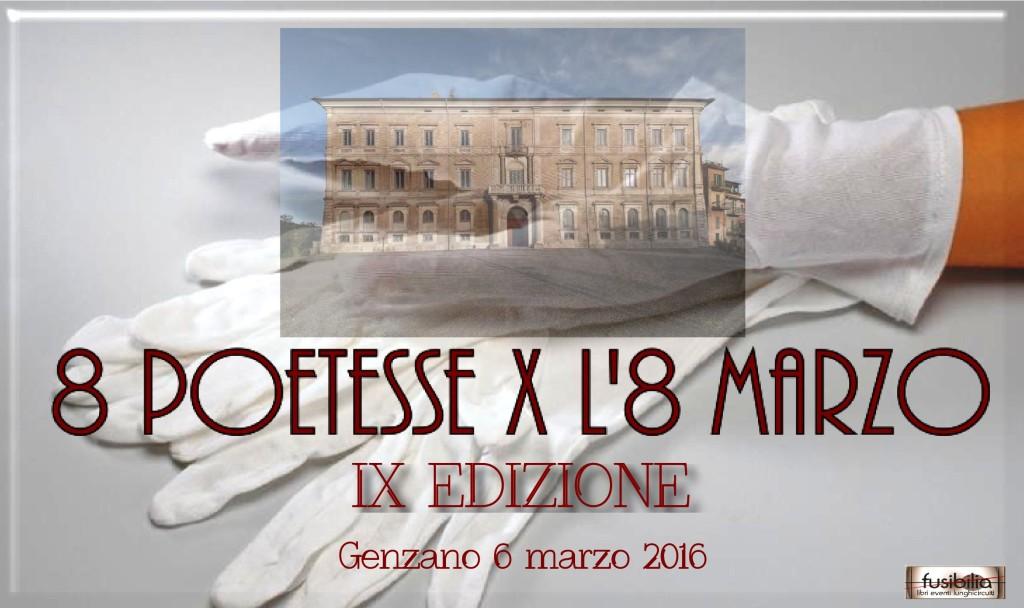 logo 8 poetesse genzano